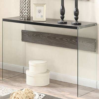 Bodner Console Table Finish: Weathered Gray