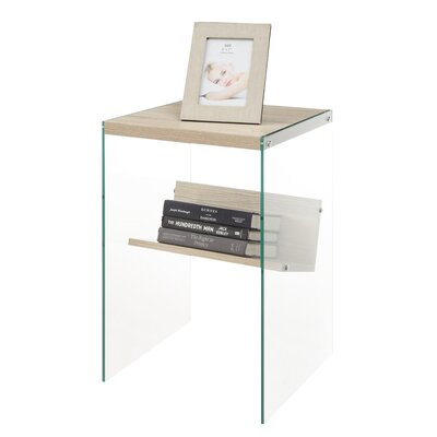 Calorafield End Table Color: Weathered White