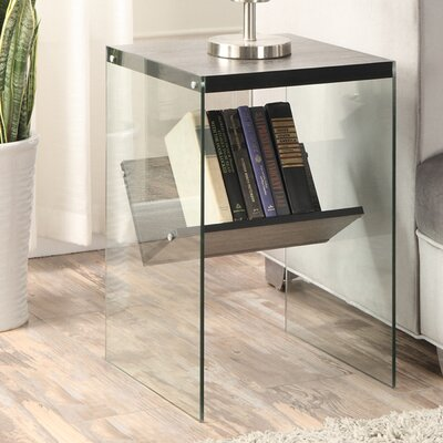 Bodner End Table Finish: Weathered Gray