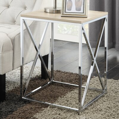 Carrollton End Table Finish: Weathered White