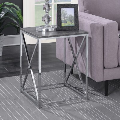 Carrollton Chrome End Table
