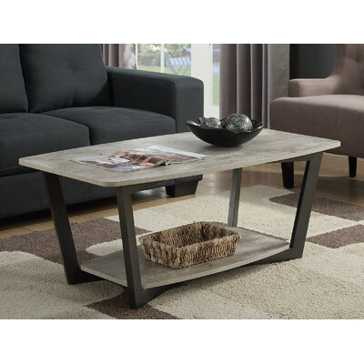 Anissa Coffee Table with Magazine Rack