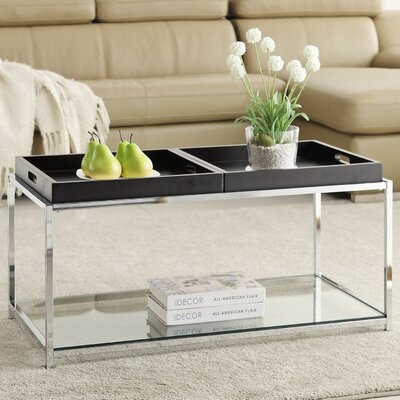 Boger Coffee Table Color: Black