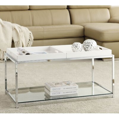 Boger Coffee Table Finish: White