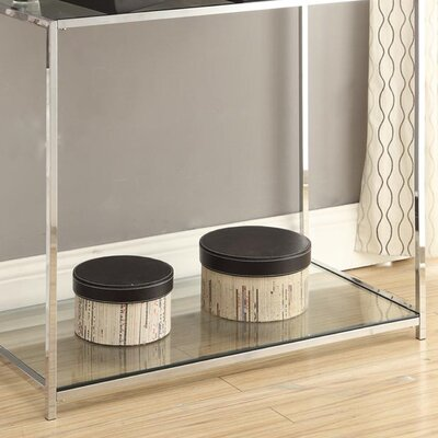 Boger Console Table Finish: Black