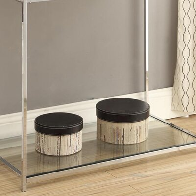 Boger Console Table Finish: White