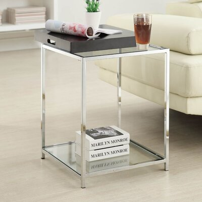 Boger End Table Finish: Black