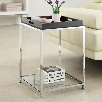 Boger Tray Table Color: Black