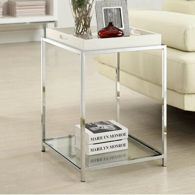 Boger Tray Table Color: White