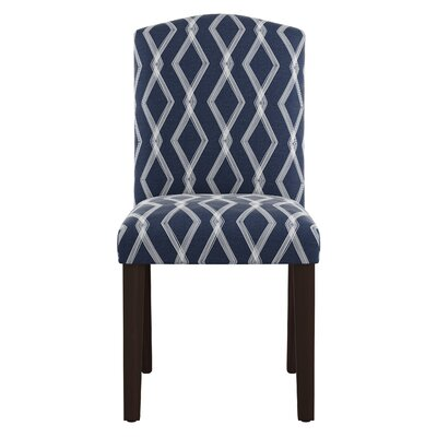 Newberry Arched Crossweave Side Chair