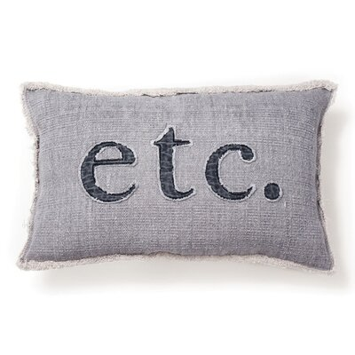 Fernon Etc. Cotton Lumbar Pillow
