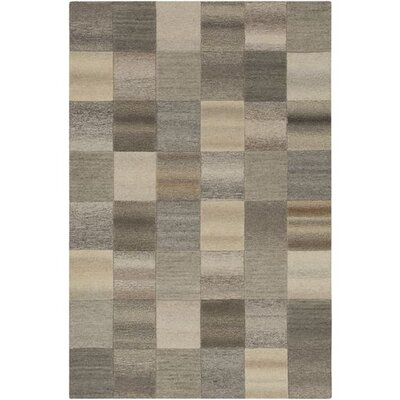 Pucklechurch Hand-Tufted Butter/Khaki Area Rug Rug Size: Rectangle 2 x 3