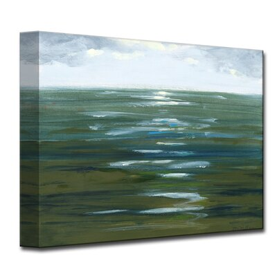 Overcast Painting Print on Wrapped Canvas Size: 12
