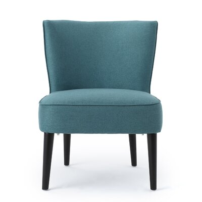 Driftwood Barrel Chair Upholstery: Dark Teal
