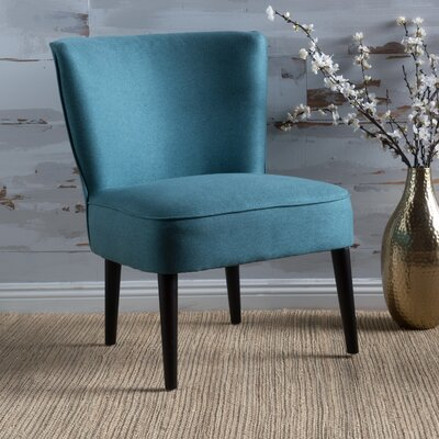 Bufkin Side Chair Upholstery: Dark Teal