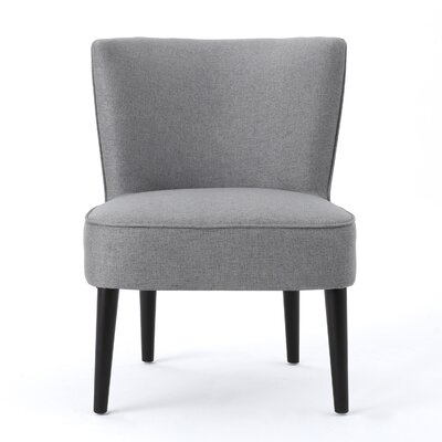 Driftwood Barrel Chair Upholstery: Gray