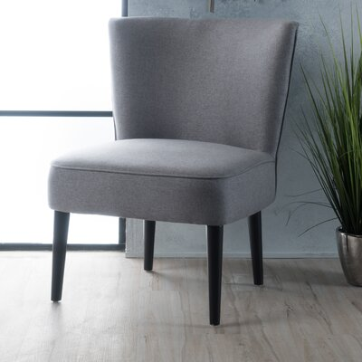 Bufkin Side Chair Upholstery: Gray