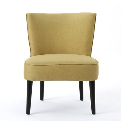 Driftwood Barrel Chair Upholstery: Yellow