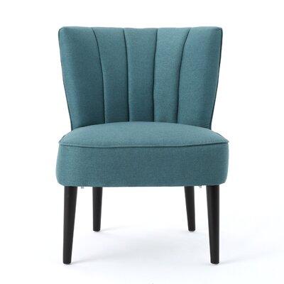 Boon Barrel Chair Upholstery: Dark Teal