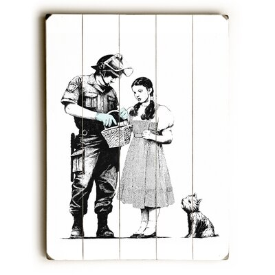 Dorothy Painting Print on Wood Size: 16