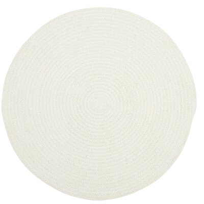 Yonkers Light Beige Solid Rug Rug Size: Round 56