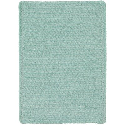 Yonkers Light Green Solid Rug Rug Size: 10 x 14