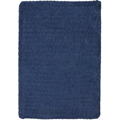Yonkers Navy Solid Rug Rug Size: 8 x 11