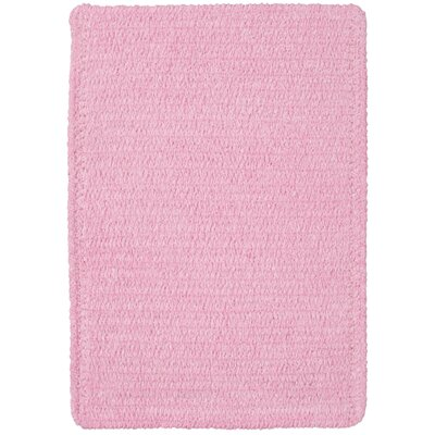 Yonkers Pink Solid Rug Rug Size: 7 x 9