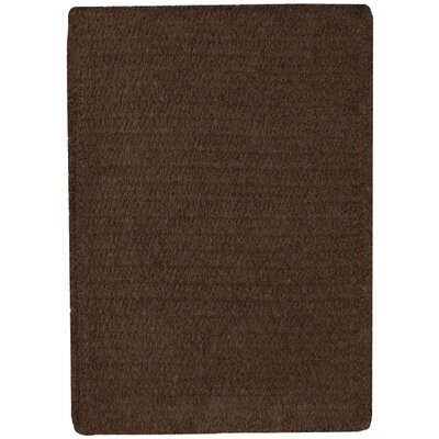 Yonkers Chocolate Solid Rug Rug Size: Square 3