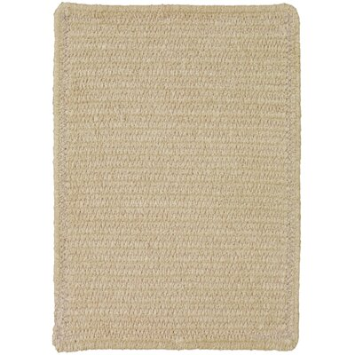 Yonkers Coffee Solid Rug Rug Size: Cross Sewn Runner 23 x 9