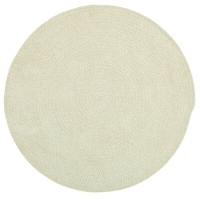 Yonkers Coffee Solid Rug Rug Size: Round 3