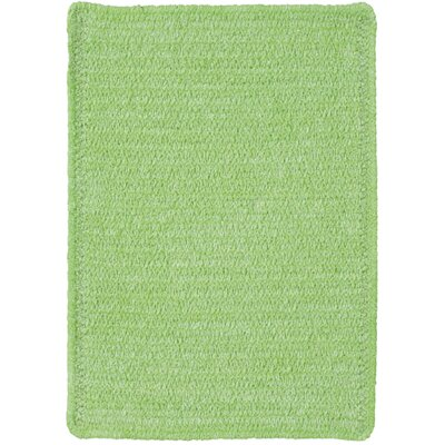 Yonkers Key Lime Solid Rug Rug Size: 2 x 3