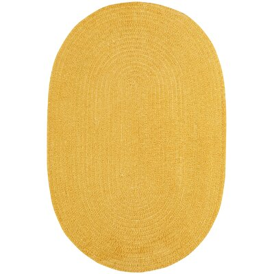 Yonkers Braided Corn Area Rug Rug Size: Oval 7 x 9