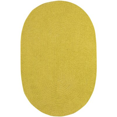 Yonkers Braided Leaf Area Rug Rug Size: Oval 3 x 5