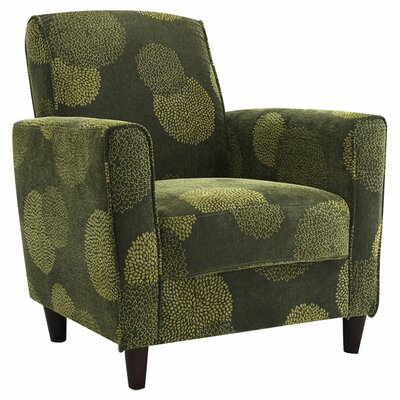 Harman Armchair Color: Green
