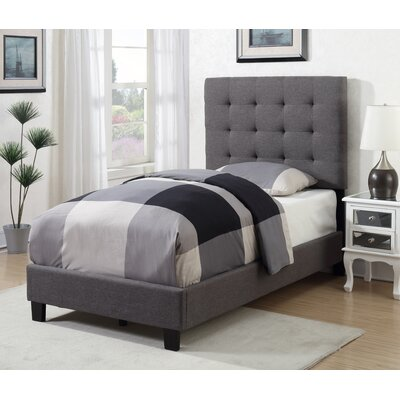 Boggs Tufted Upholstered Panel Bed