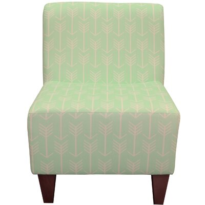 Madiun Slipper Chair Upholstery: Mint