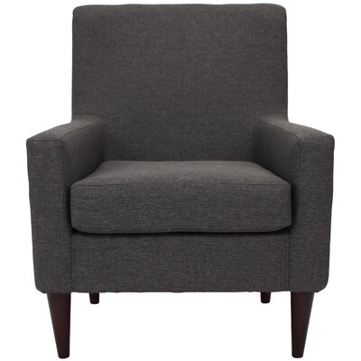 Donham Solid Armchair Upholstery: Gray