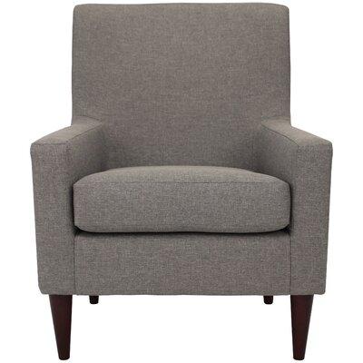 Donham Solid Armchair Upholstery: Quartz