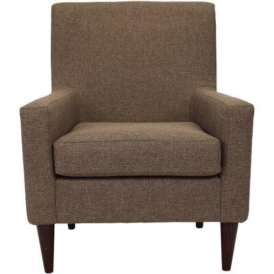 Bohn Arm Chair Upholstery: Pecan