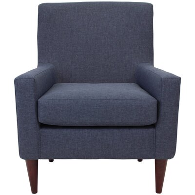 Emma Arm Chair Upholstery: Navy
