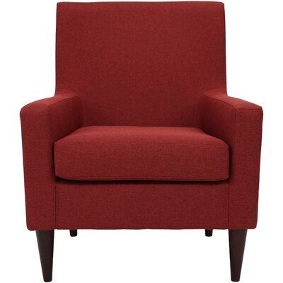 Donham Solid Armchair Upholstery: Picante