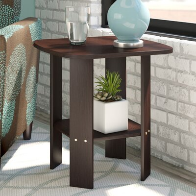 Castlewood End Table Finish: Dark Brown Wood Grain