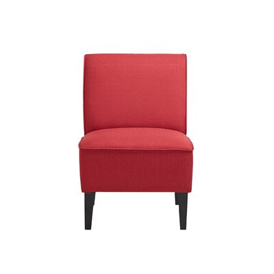 Benitez Slipper Chair Color: Red