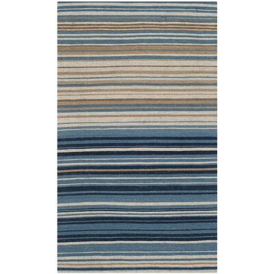 Jefferson Striped Contemporary Area Rug Rug Size: 2'3