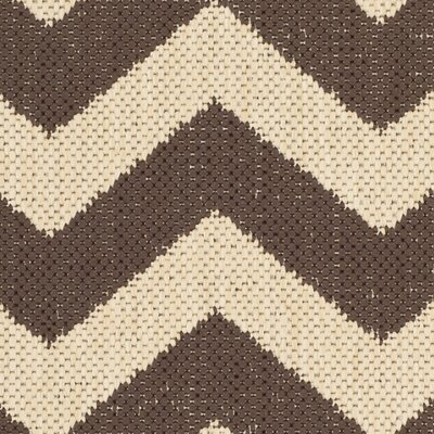 Jefferson Place Dark Brown Outdoor Area Rug Rug Size: Runner 23 x 8