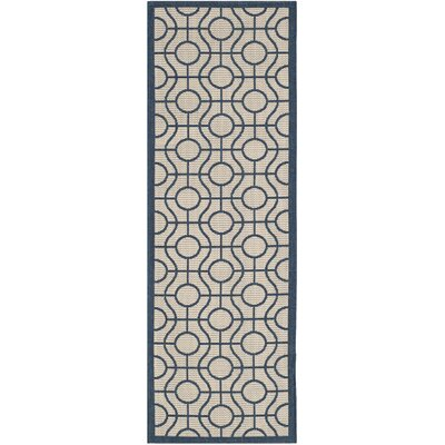 Jefferson Place Outdoor Area Rug Rug Size: Runner 23 x 67