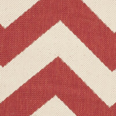 Jefferson Place Red Indoor/Outdoor Area Rug Rug Size: Runner 2'3