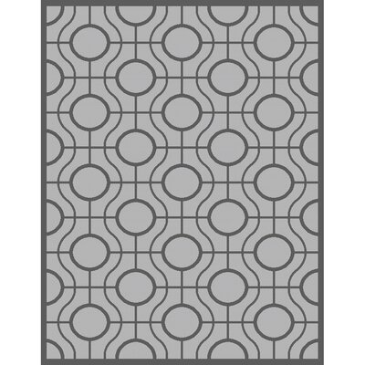Jefferson Place Light Grey / Anthracite Indoor/Outdoor Rug Rug Size: Rectangle 53 x 77