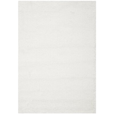 Boice White Area Rug Rug Size: 11 x 15